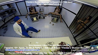 Asia Perez, Mina, Ami Rogue Group Strip Search Debase Tampa