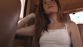 Small titty amateur hooker mckenzie blasted on her face