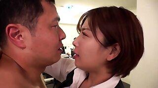 POV close up asian gf blowjob