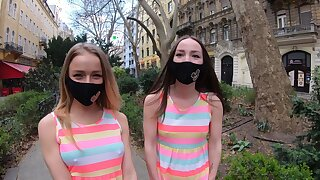 Aberrant flog friends Alexa Flexy and Kate Quinn have a threesome