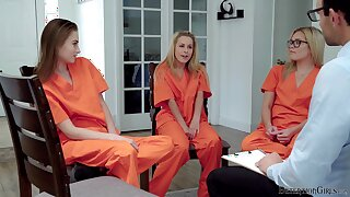 Sexual inmate XXX action